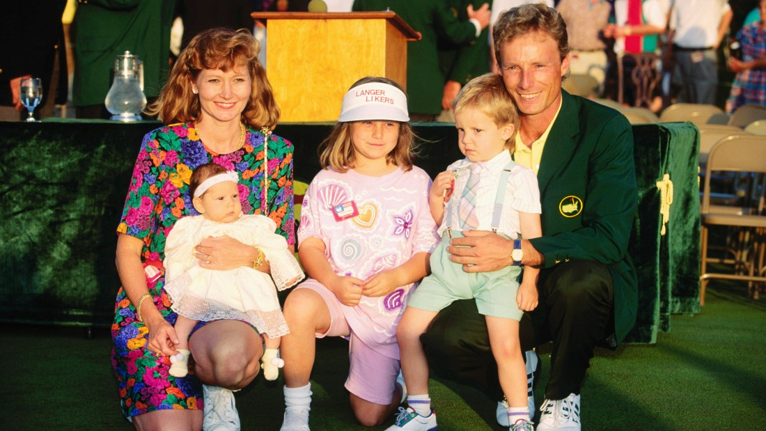 He said he still felt empty after the win -- but then became a born-again Christian, along with his wife Vikki, and won the Masters again on Easter Sunday 1993.