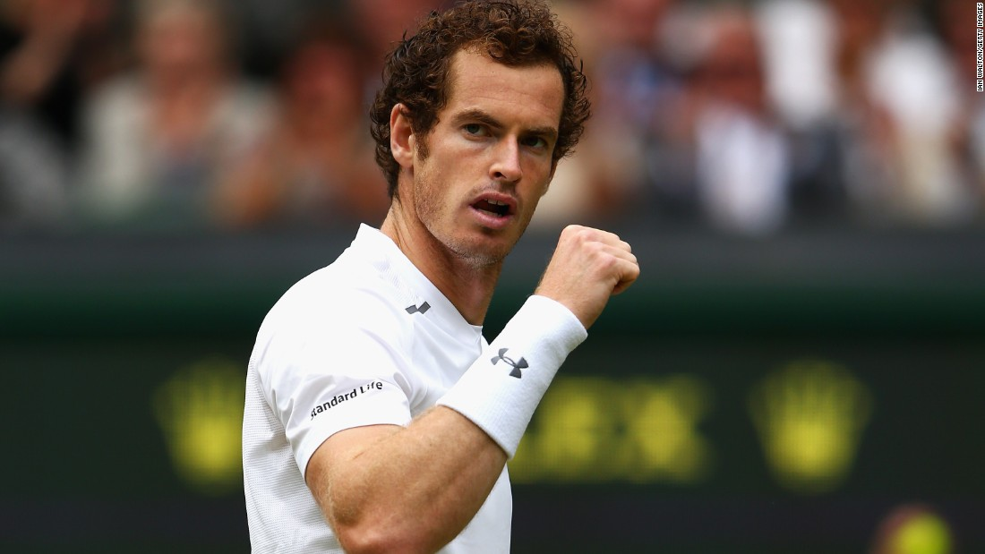 Murray saw off Canadian Vasek Pospisil in straight sets to avoid being upset in the quarterfinals at Wimbledon for the second straight year.