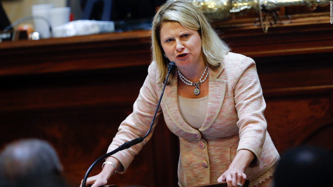 Jenny Horne's tearful Confederate flag speech shakes S.C. State House