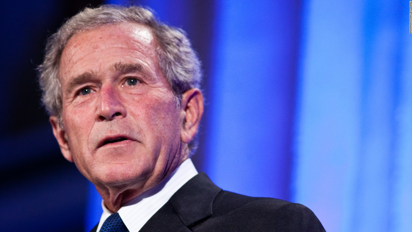 george w bush charged vets group 100k for speech cnnpolitics