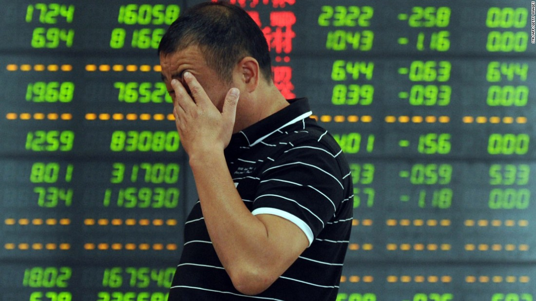 'Ground zero': China's stock market crash up close in Shanghai