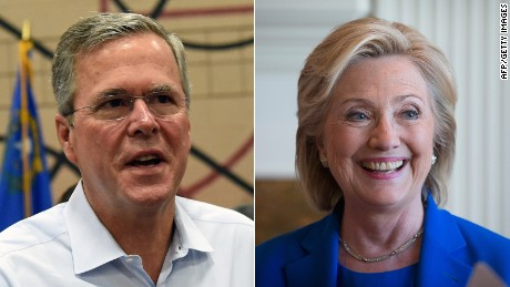 The Bush and Clinton relationship roller coaster