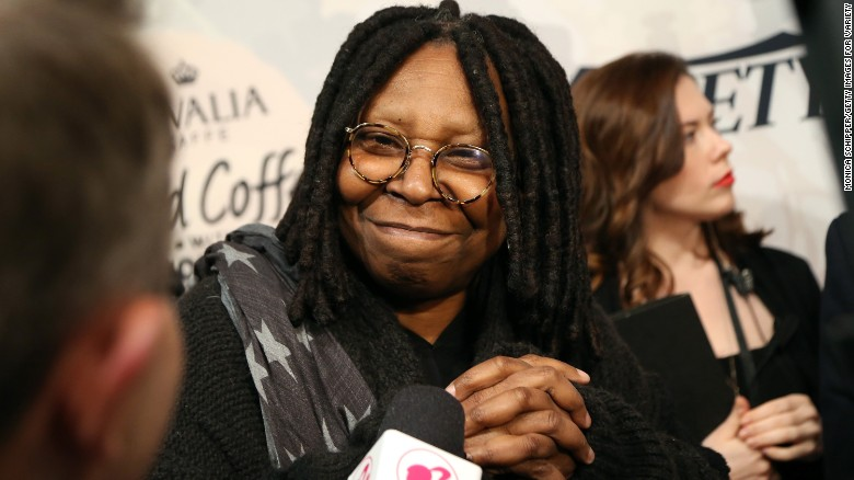 Accuser reacts to Whoopi Goldberg's defense of Cosby