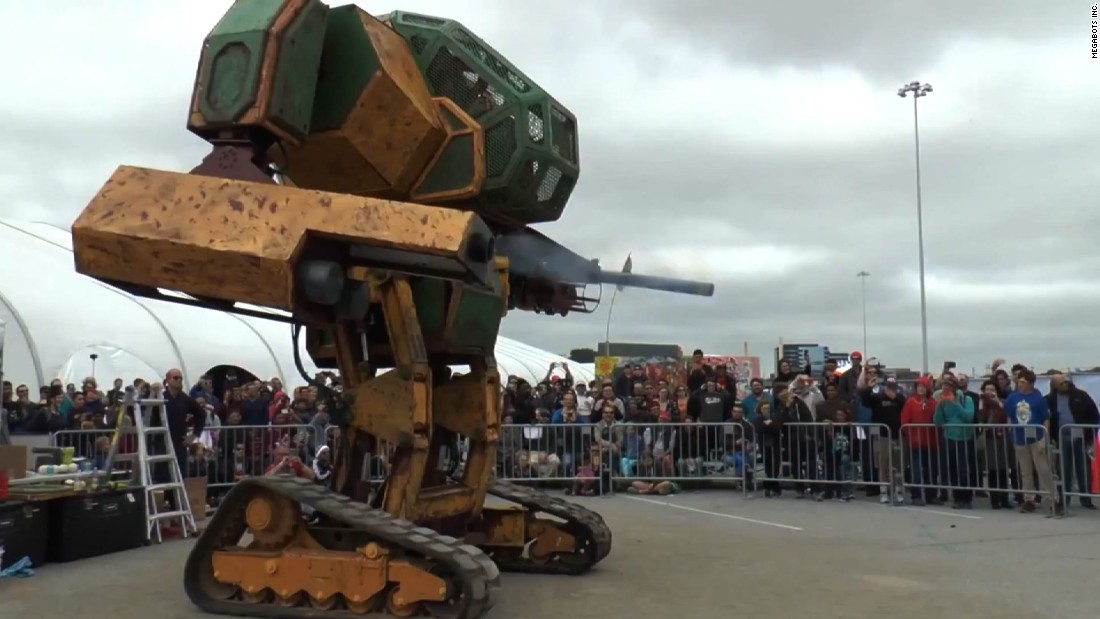 USA vs. Japan Part II: Giant robots set to duel