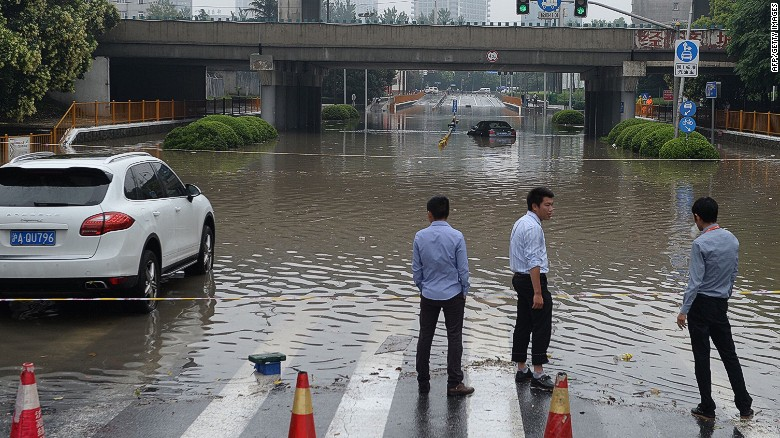 Chinese coast slammed by massive storms