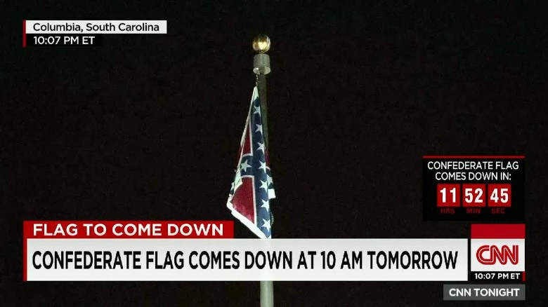 Does removing the Confederate flag censor history?