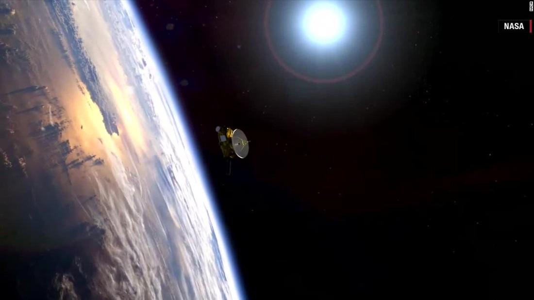 NASA probe set to make history at Pluto