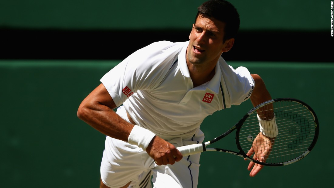 Top seed Novak Djokovic had too much firepower for Richard Gasquet in Friday's opening men's semifinal at Wimbledon 2015.