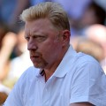 becker watches djokovic