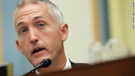 U.S. Rep. Trey Gowdy (R-SC) speaks during a hearing before the House Judiciary Committee June 11, 2014 on Capitol Hill in Washington, DC.
