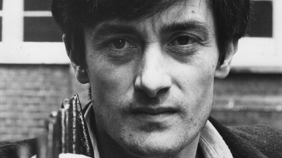 "Tony Award-winning actor Roger Rees, seen in a 1980 photo, was known to TV viewers for his roles in ""Cheers"" and ""The West Wing."""