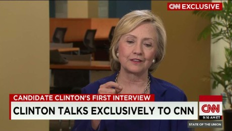 Hillary Clinton on emails: 'everything was permitted'