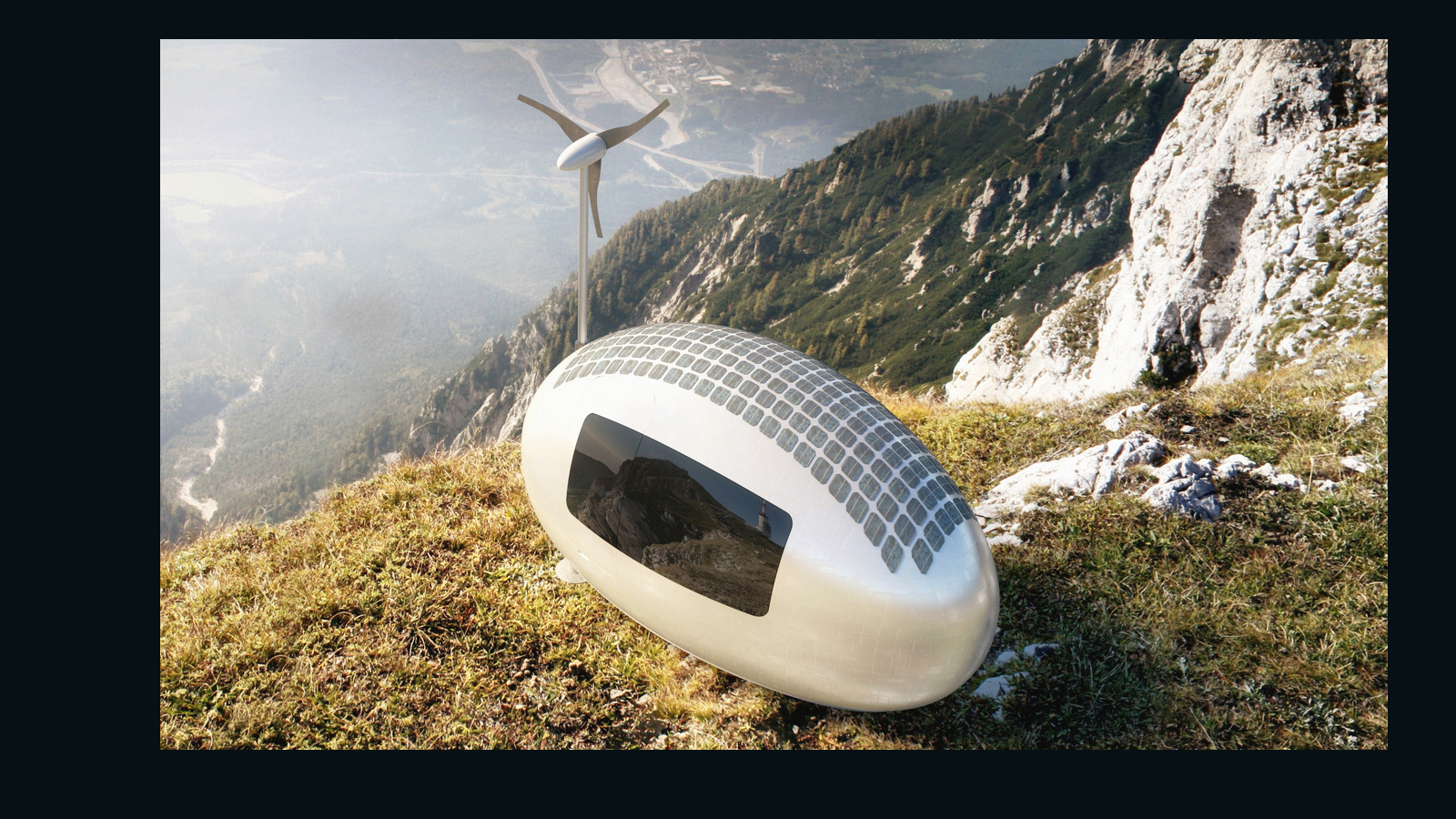 Egg-shaped 'ecocapsule' lets you live anywhere