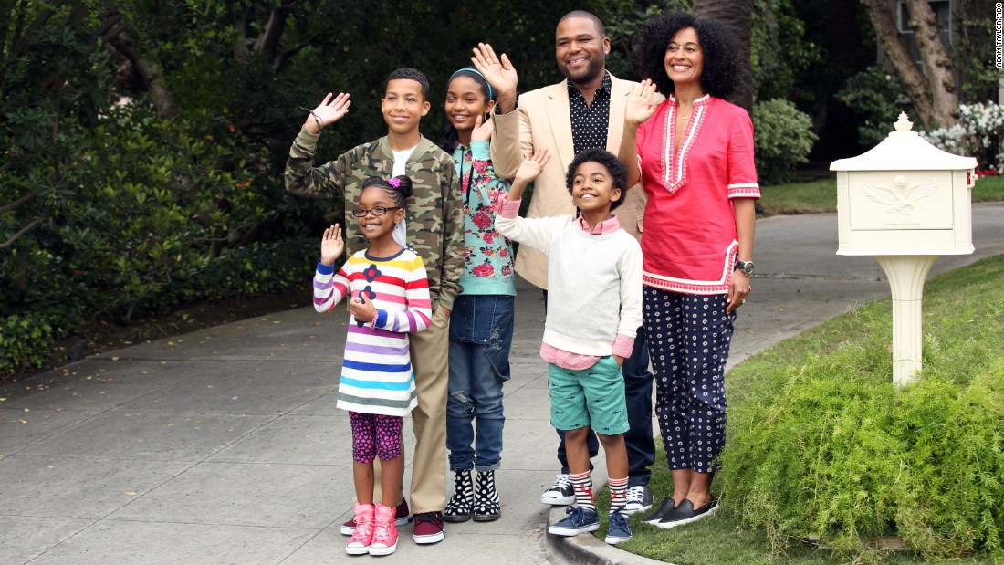 "ABC's family comedy, ""black-ish' earned four Emmy nominations, including one for outstanding comedy series."