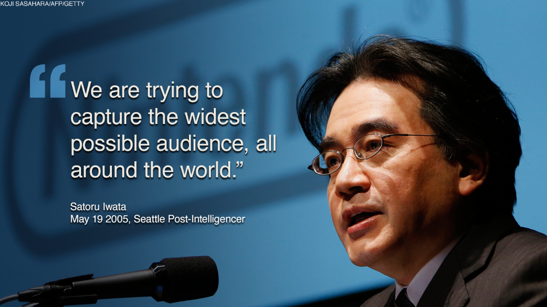 During Iwata's tenure, the company boasted explosive sales of the Wii and the Nintendo DS. In 2009, the Wii became the best-selling video game console in the world as demand for the original Wii console and software generated a skyrocketing revenue of 1.8 trillion yen ($14.7 billion), with a net operating profit of 555 billion yen ($4.5 billion). Iwata geared Nintendo's products not just toward hard core gamers, but families and ordinary people.