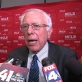 Bernie Sanders on Donald Trump immigration La Raza question_00003203