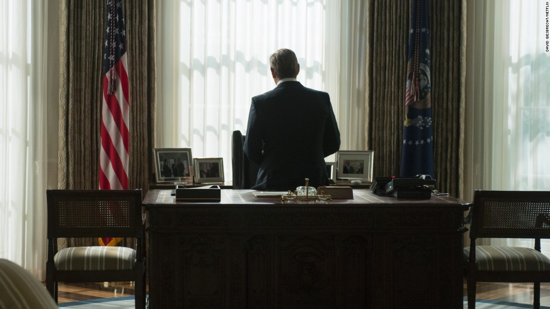 "Kevin Spacey, ""House of Cards"""