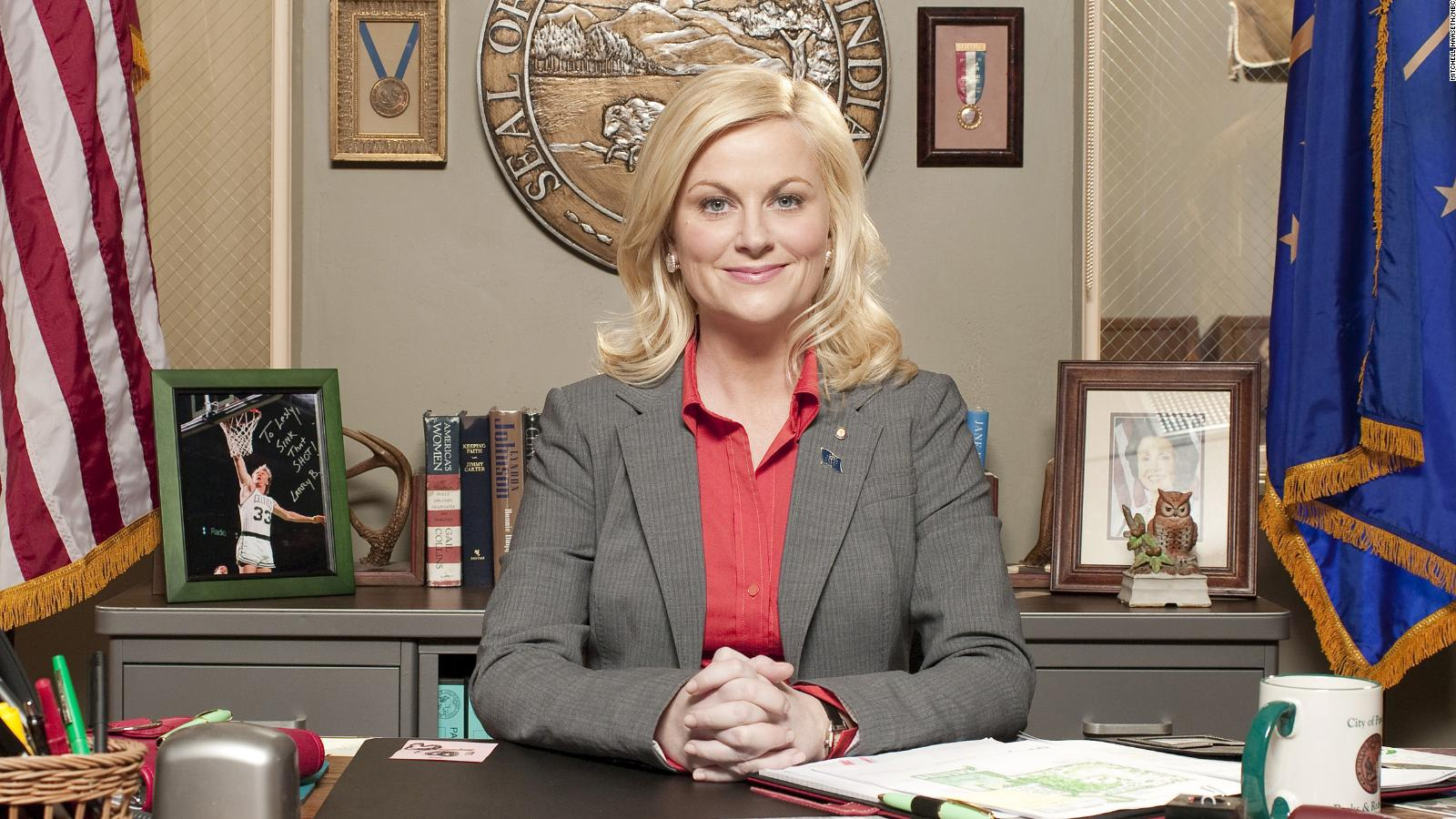 Amy Poehler is ready for a 'Parks and Recreation' reboot - CNN