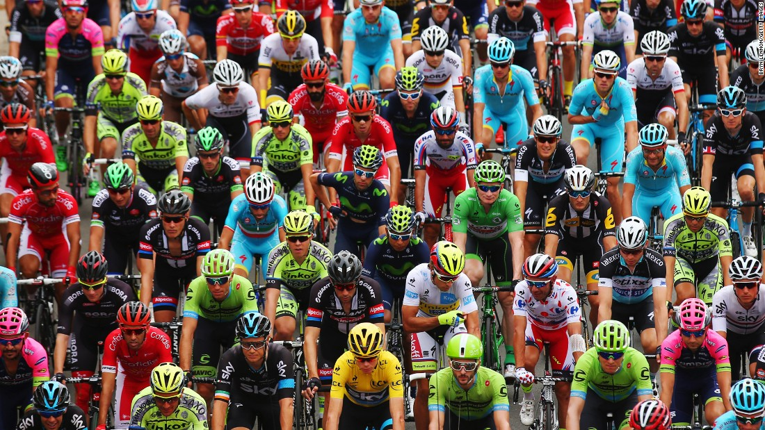 "Check out some of the <a href=""http://www.cnn.com/2015/07/14/sport/gallery/what-a-shot-sports-0714/index.html"">most amazing moments in sports this week</a>, including these cyclists beginning the fourth stage of the Tour de France."