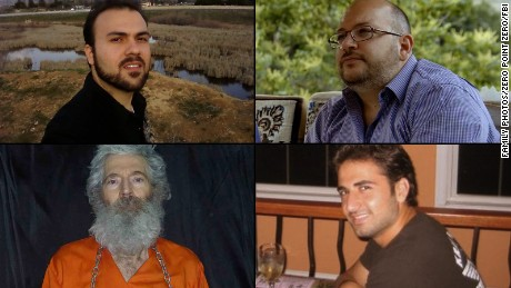 These four Americans are still being held in Iran