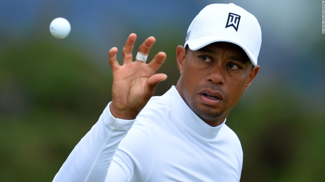 Tiger Woods has seen his world ranking slump to 241 amid problems with form and injuries -- but he has no intention of giving up on golf.