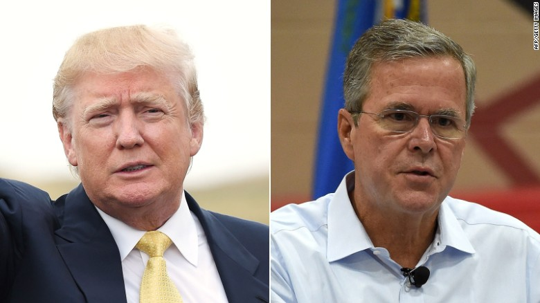 Trump, Bush trade campaign trail barbs