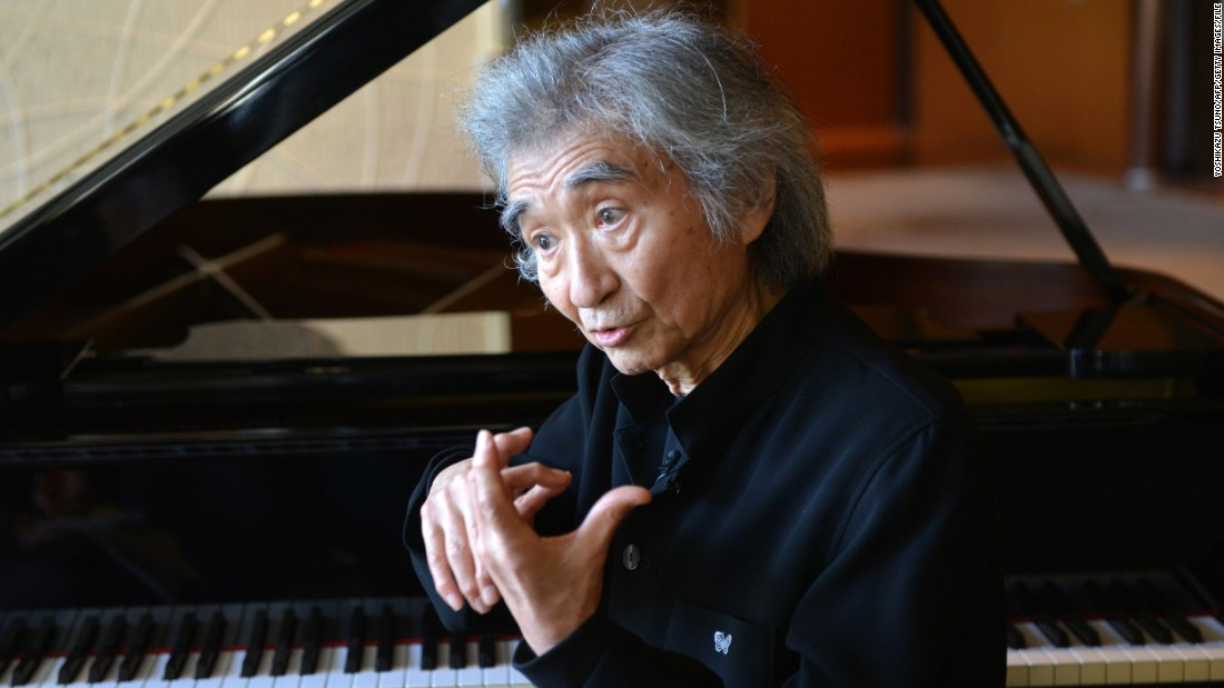 Japanese conductor <strong>Seiji Ozawa</strong> directed the Boston Symphony Orchestra for 29 years and has won two Emmy Awards.