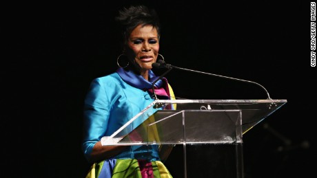 NEW YORK, NY - JUNE 09: Actress Cicely Tyson speaks during the I Have A Dream Foundation 'Spirit of the Dream' Gala at Gotham HallCicely Tyson on June 9, 2015 in New York City. (Photo by Cindy Ord/Getty Images for I Have a Dream Foundation)