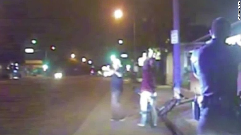 Dashcam shows police shooting of unarmed man