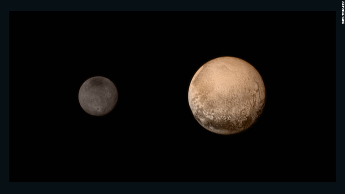 "No spacecraft had ever gone to Pluto before NASA's <a href=""https://www.nasa.gov/mission_pages/newhorizons/main/index.html"" target=""_blank"">New Horizons</a> made its fly-by on July 14, 2015. The probe sent back amazing, detailed images of Pluto and its largest moon, Charon. It also dazzled scientists with new information about Pluto's atmosphere and landscape. New Horizons is still going today, heading out into the Kuiper Belt."