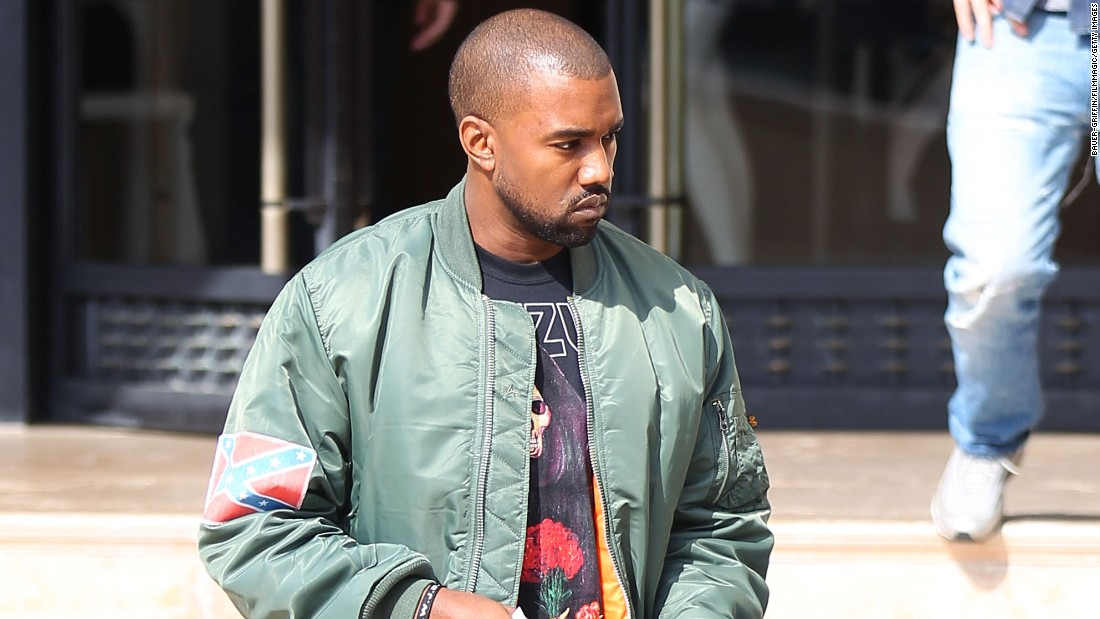 "Kanye West has <a href=""http://images.complex.com/complex/image/upload/t_article_image/gsiumm6907fe1qg9vaf9.png"" target=""_blank"">wrapped himself in the flag</a> and worn flag decals. ""I took the Confederate flag and made it my flag. It's my flag now. Now what you gonna do?"" <a href=""http://www.cnn.com/2013/11/04/us/kanye-west-confederate-flag/"">he told a Los Angeles radio station</a>."
