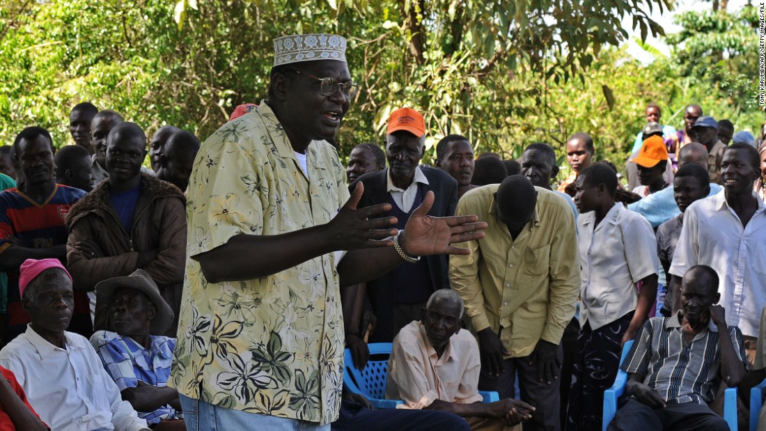 "President Barack Obama's half-brother Malik, pictured addressing supporters on January 16, 2013, is a trained economist. He was the president's <a href=""http://www.nytimes.com/2014/04/23/us/politics/amid-politics-obama-drifted-away-from-kin.html?_r=0"" target=""_blank"">best man at Obama's wedding</a>.<br /><a href=""/2015/07/22/opinions/tony-elumelu-global-entrepreneurship-summit/index.html"" target=""_blank""><br />Read more: Why Obama's Kenya visit is a turning point for African entrepreneurship</a>"