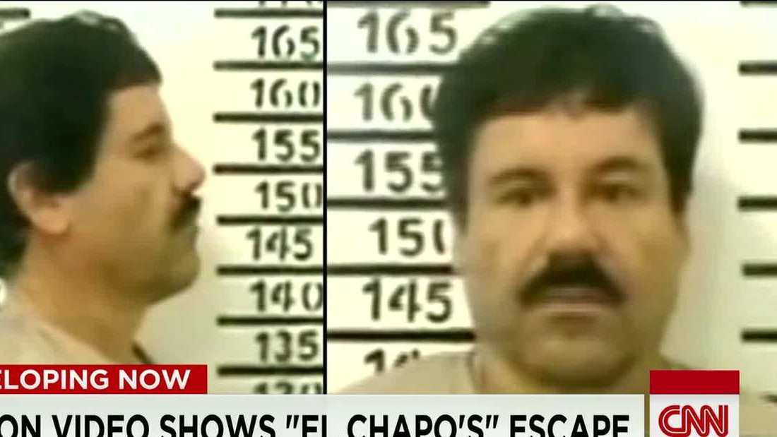Video shows moment of 'El Chapo's' escape from Mexican prison