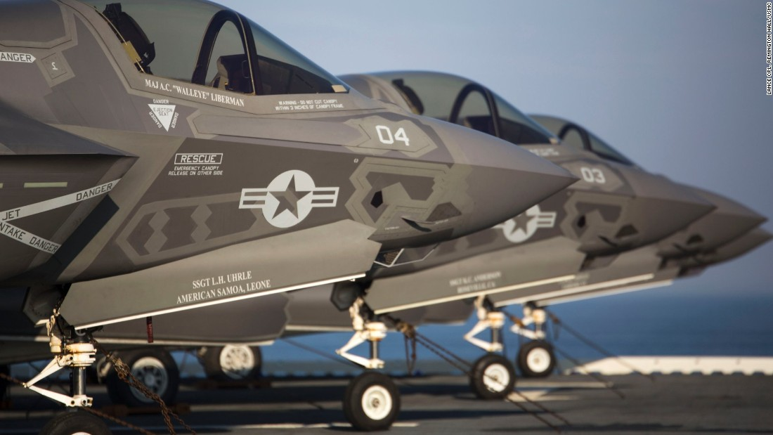 New Air Force F-35 Lightning II fighter jets drop first bombs