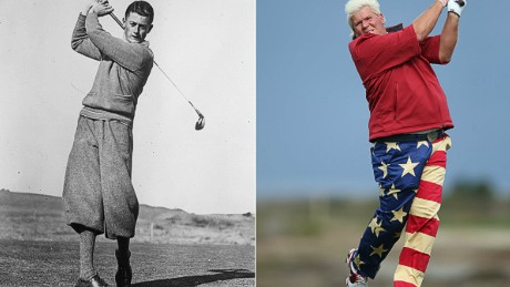 How golf's fairway fashionistas shaped the look of the links
