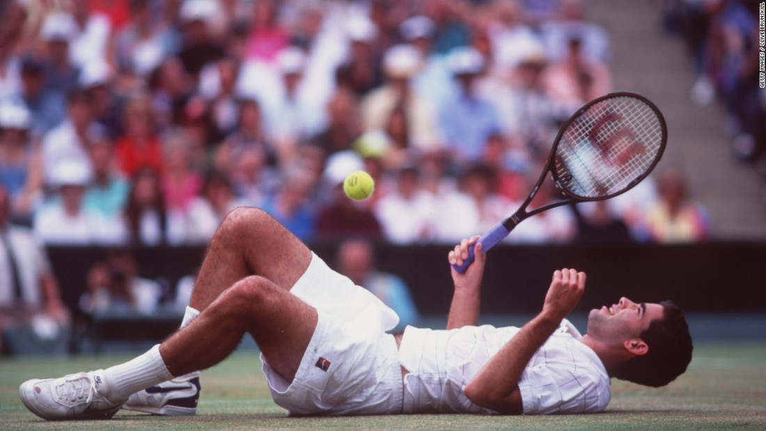 Pete Sampras is one of the all time tennis greats having collected 14 grand slams during his illustrious career. He collected 12 of those between 1993 and 2000.
