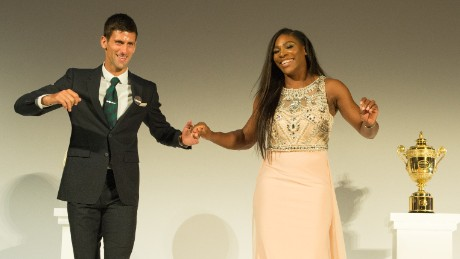 Serena and Novak look back at Wimbledon 2015