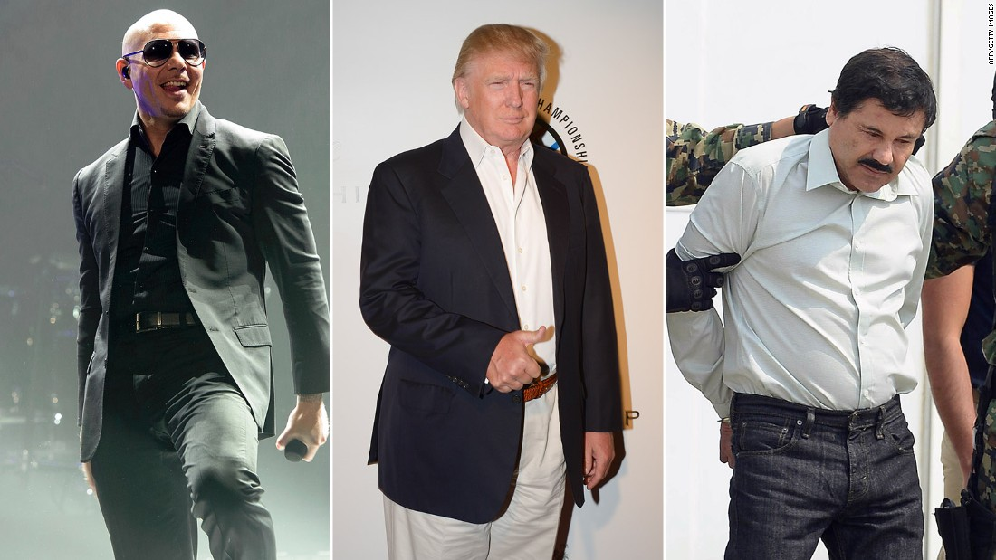 Pitbull to Donald Trump: Watch out for 'El Chapo!'