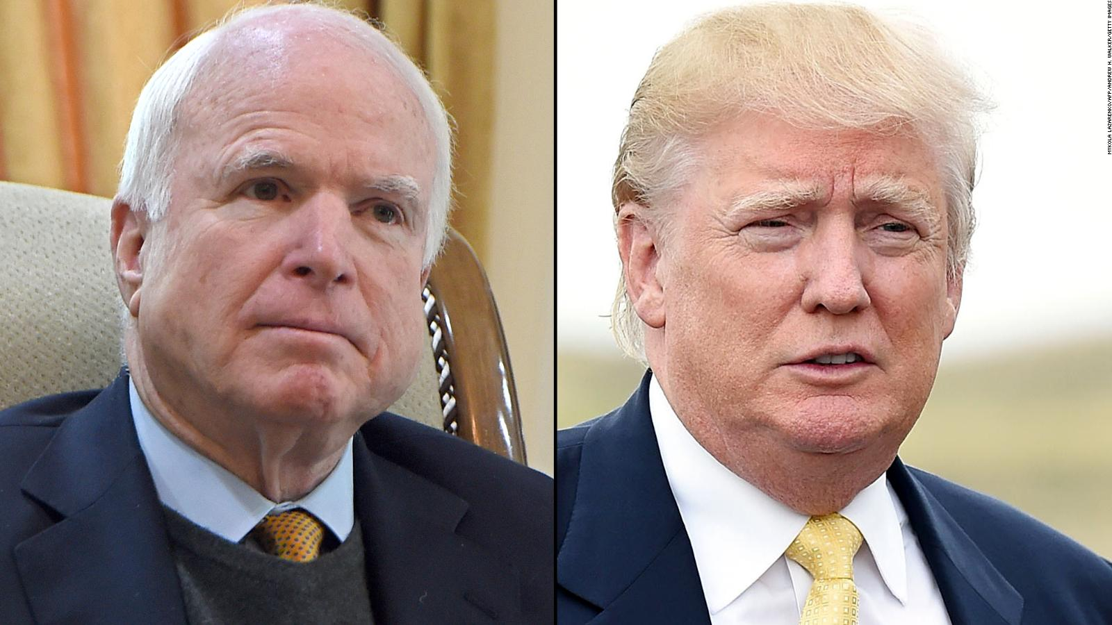 Trump and McCain's never-ending back and forth - CNN Video