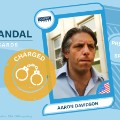 FIFA scandal collector cards Aaron Davidson