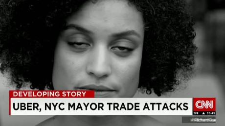Uber trades insults with NYC Mayor
