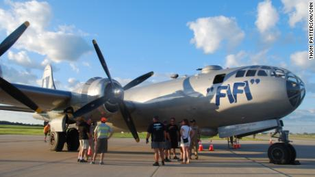 'FIFI' is a World War II-era bomber that's billed as the last flying B-29 Superfortress.