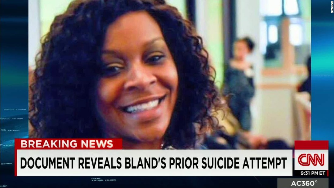 Sandra Bland's death ruled suicide by hanging