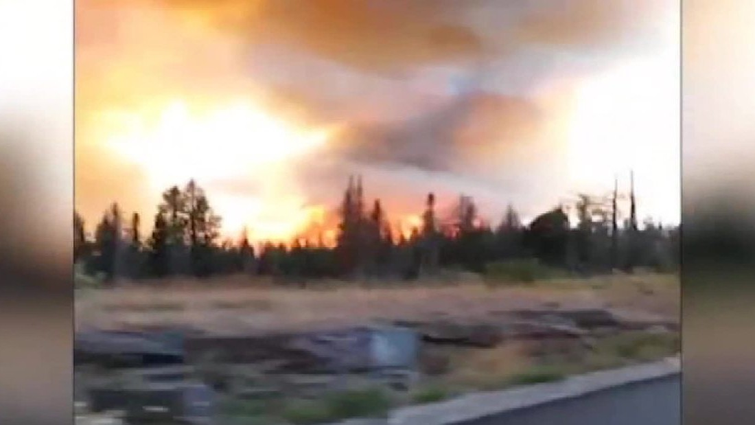 Quick-moving Glacier National Park fire grows, forces evacuations