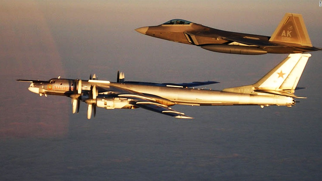 Russian bombers spotted off Alaskan coast twice in 24 hours