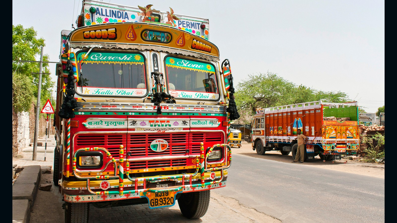 the psychedelic world of indian truck art cnn travel