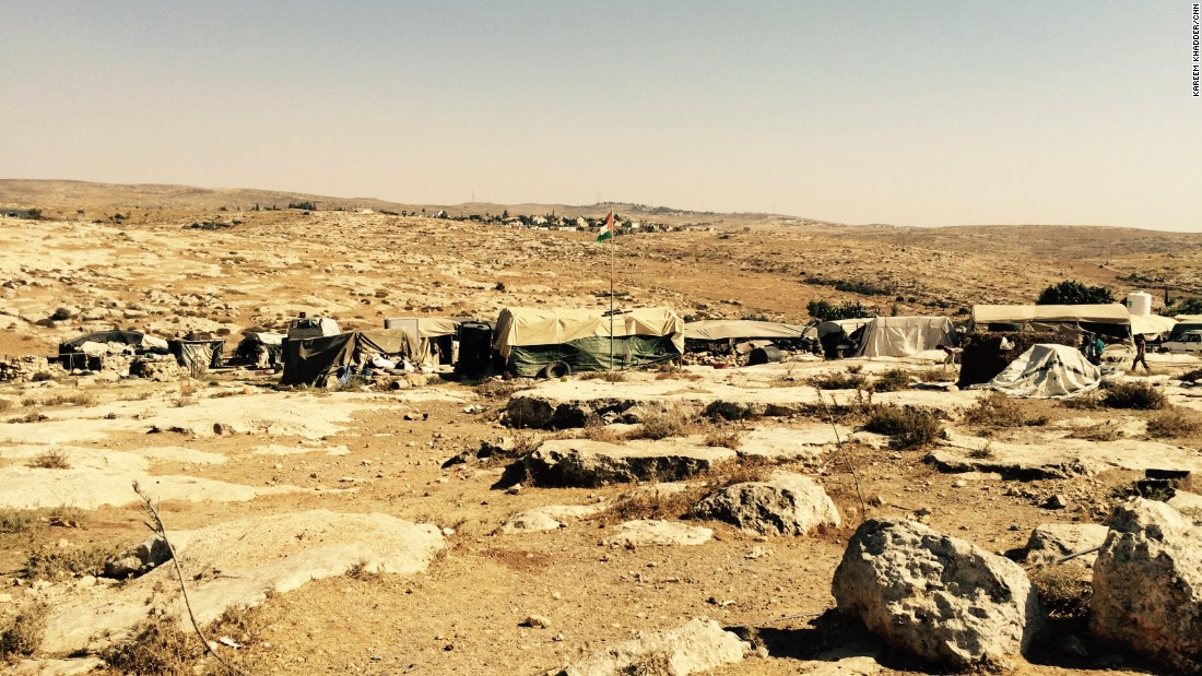 The Palestinian village of Susiya sits in a dusty valley in the southern West Bank, near an Israeli settlement of the same name.