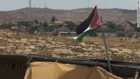 Israeli authorities have denied the villagers permission to build, in part because they say the village does not have proper infrastructure, and because those who live here don't own the land.