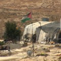Susiya tents water tanks