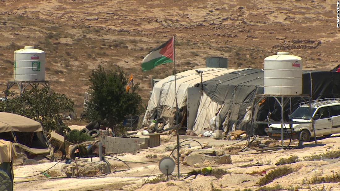 Palestinian villagers insist the land is theirs, but they were recently denied a court injunction to stop Israeli authorities leveling their homes.